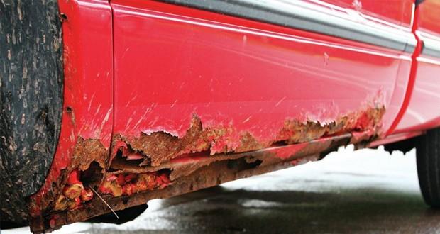 خوردگی بدنه خودرو توسط نمک و راه های جلوگیری از آن