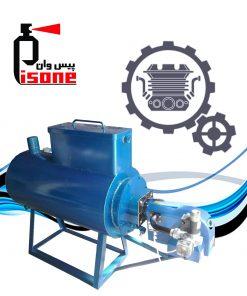 سیستم شستشوی آبگرم فشارقوی پاک پمپ