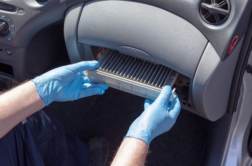 الیاف و الیاف کربنی استفاده شده در فیلتر کابین